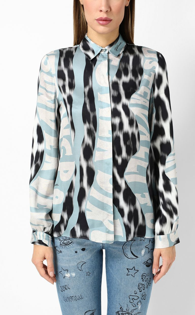 "JUST CAVALLI ""Just Flow""-print shirt Long sleeve shirt Woman r"
