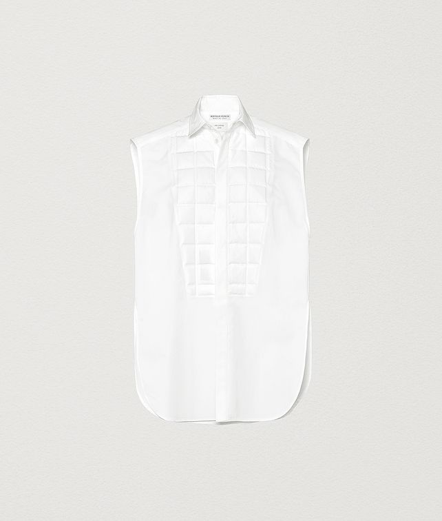 BOTTEGA VENETA SHIRT IN COTTON POPLIN Shirt and T-Shirt Woman fp