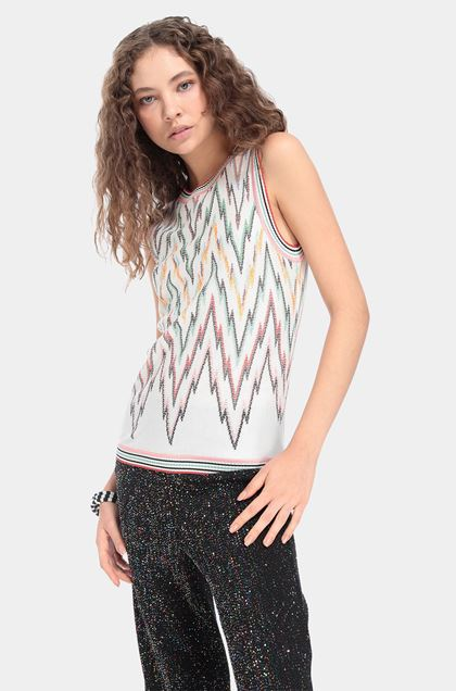 MISSONI Top White Woman - Front
