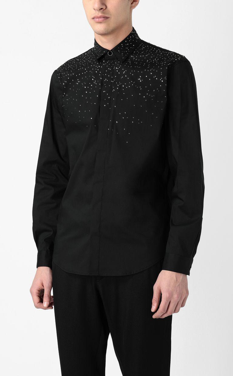 JUST CAVALLI Astral shirt Long sleeve shirt Man r