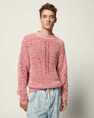 ISABEL MARANT LONG SLEEVE JUMPER Man LEONO JUMPER r
