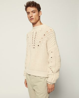ISABEL MARANT LONG SLEEVE SWEATER Man NUKO SWEATER r