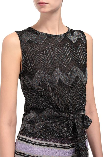 M MISSONI Shirt Black Woman - Front
