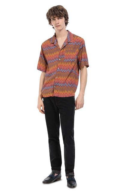 MISSONI Shirt Orange Man - Front