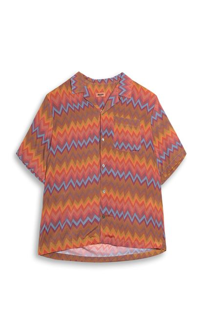 MISSONI Shirt Orange Man - Back