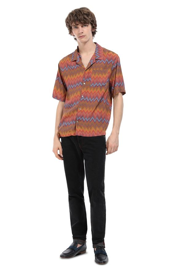 MISSONI Shirt Man, Rear view