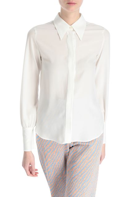 M MISSONI Shirt White Woman - Front