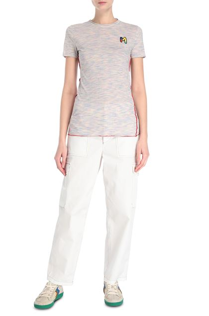 M MISSONI T-shirt Pink Woman - Back