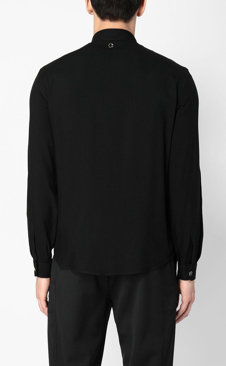 JUST CAVALLI Shirt with skull detail Long sleeve shirt Man a
