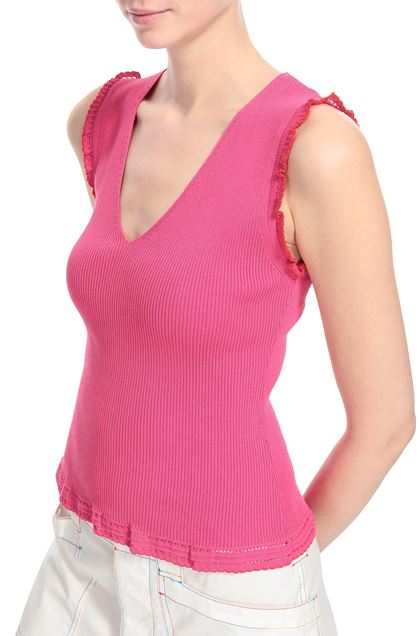 M MISSONI Top Fuchsia Woman - Front