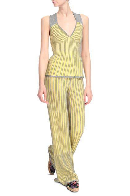 M MISSONI Top Yellow Woman - Back