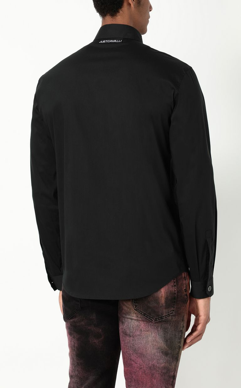 JUST CAVALLI Shirt with STCA logo Long sleeve shirt Man a