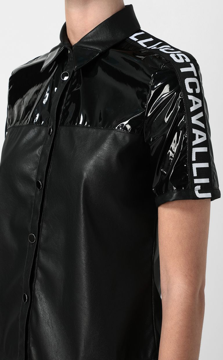 JUST CAVALLI Short sleeve shirt Woman e