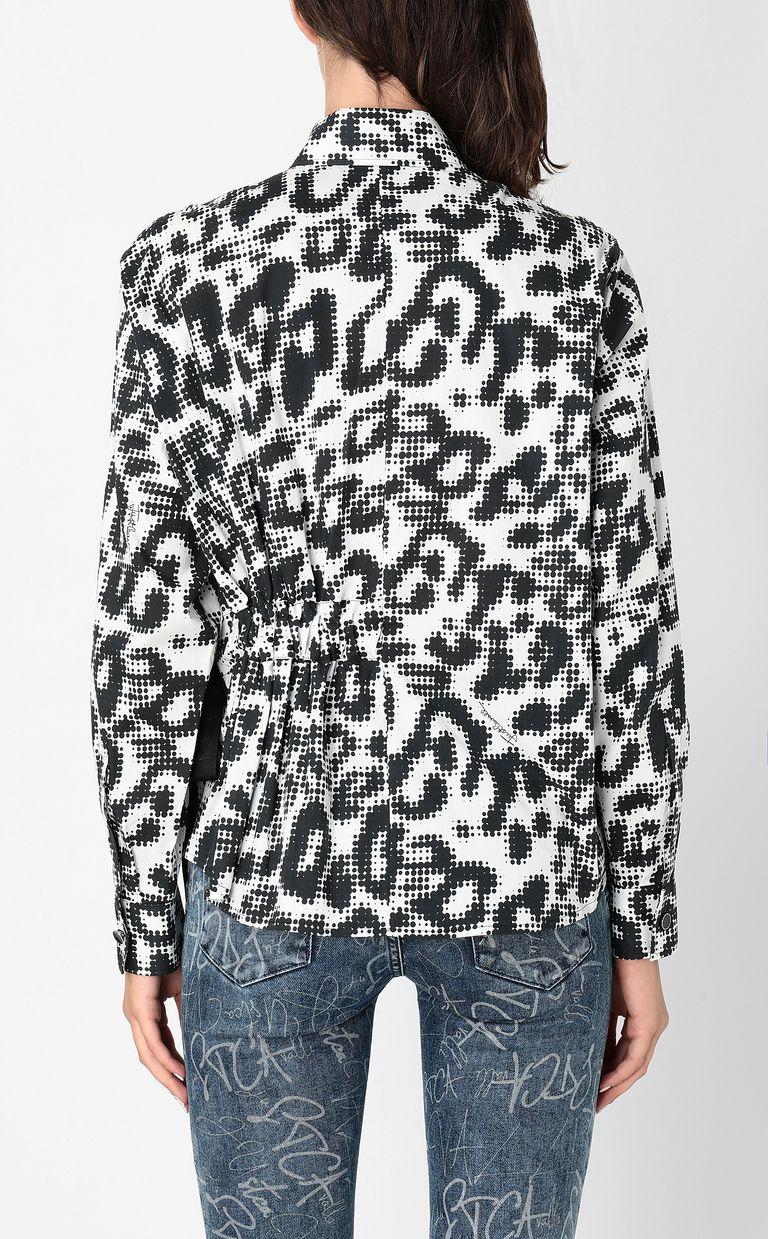 JUST CAVALLI Shirt with Leo-Pop print Long sleeve shirt Woman a