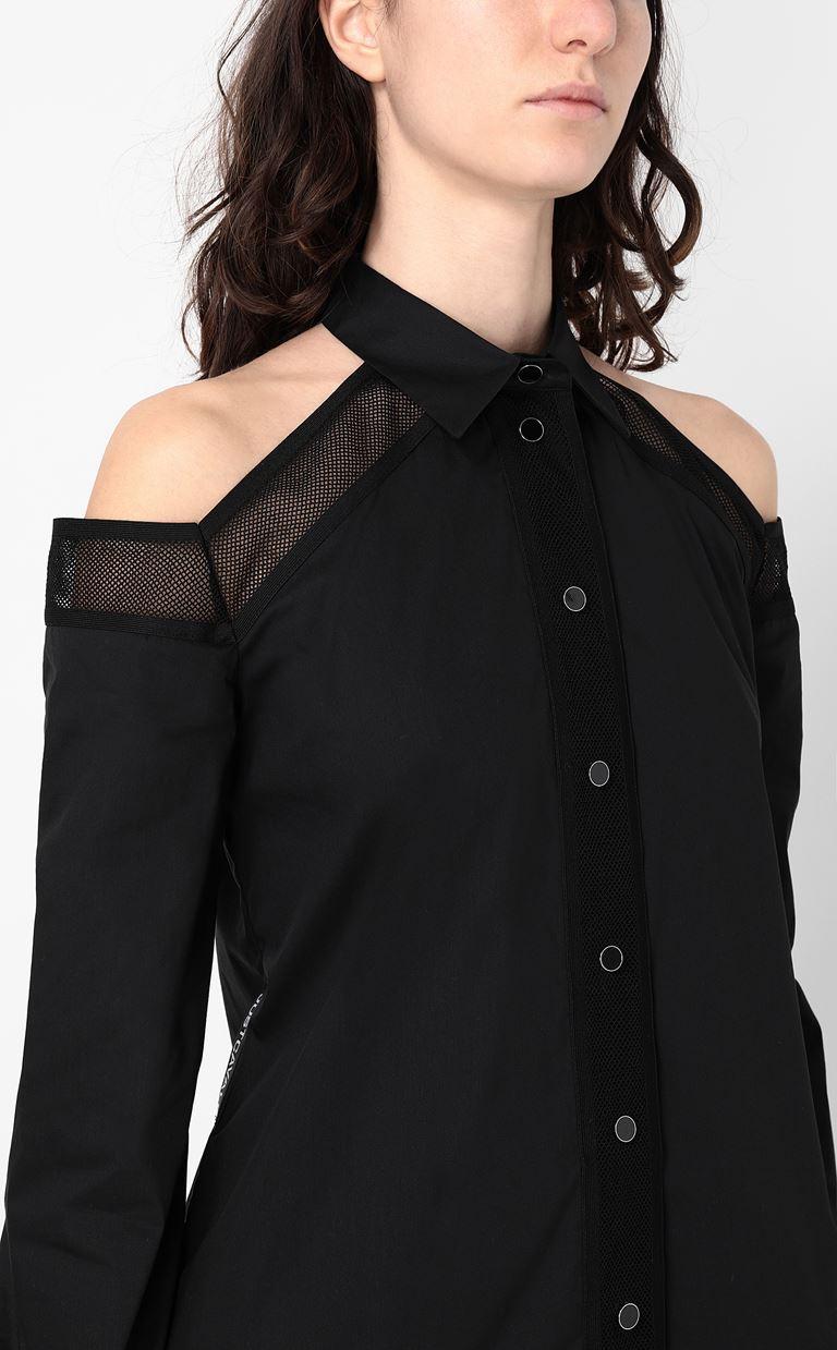JUST CAVALLI Sateen shirt Long sleeve shirt Woman e