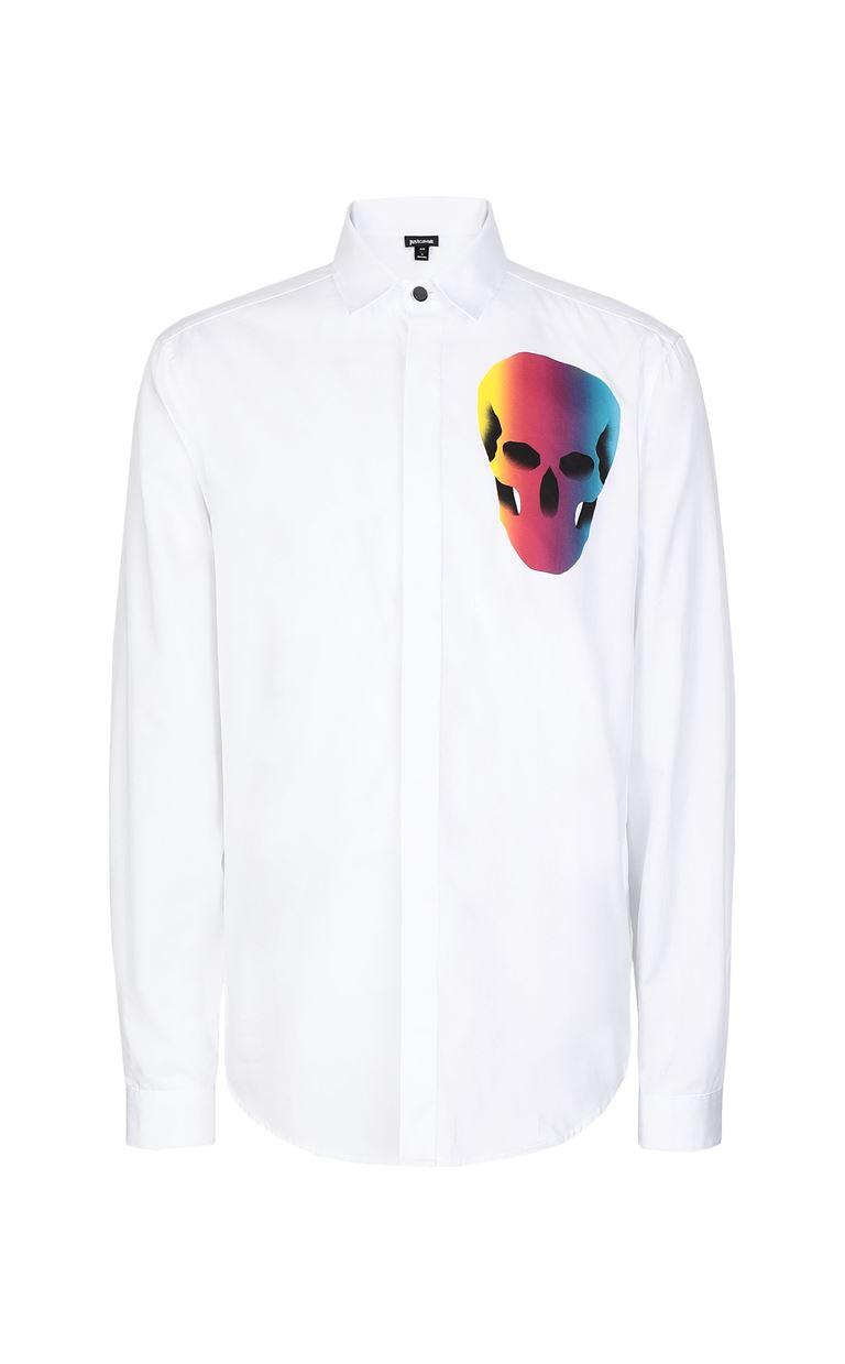 JUST CAVALLI Shirt with print design Long sleeve shirt Man f