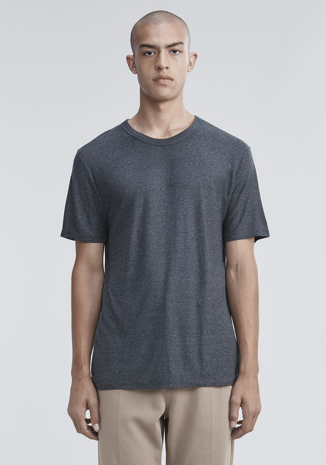 T by ALEXANDER WANG Short sleeve t-shirts SLUB RAYON SILK CREWNECKTEE
