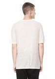 T by ALEXANDER WANG SLUB RAYON SILK CREWNECKTEE Short sleeve t-shirt Adult 8_n_d