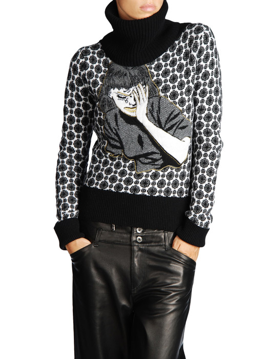 DIESEL BLACK GOLD MOLTY Knitwear D e