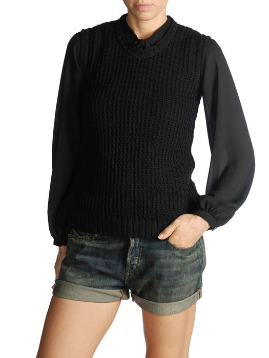 DIESEL BLACK GOLD MENAS Pull Maille D e