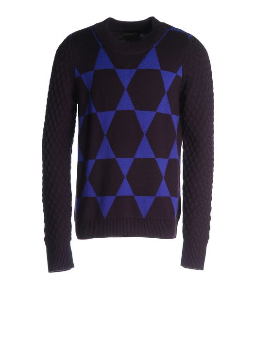 DIESEL BLACK GOLD KHRISALIS-STAR Knitwear U f