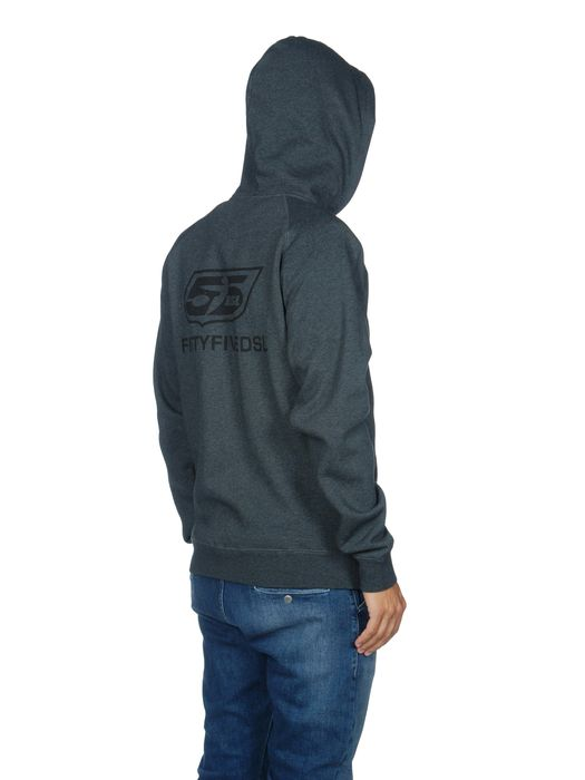 55DSL F-ZIPLOGO Pull Cotton U a