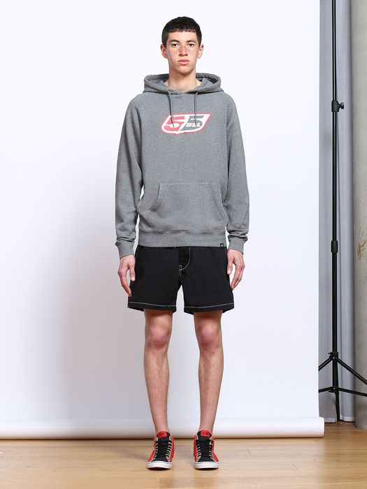 55DSL FLOGO-HOOD Sweaters U f