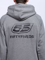 55DSL F-ZIPLOGO Felpa U a