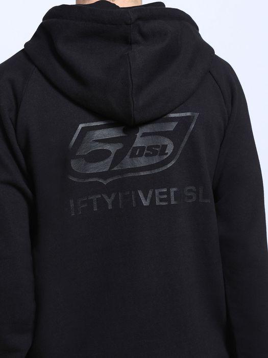 55DSL F-ZIPLOGO Sweatshirts U a