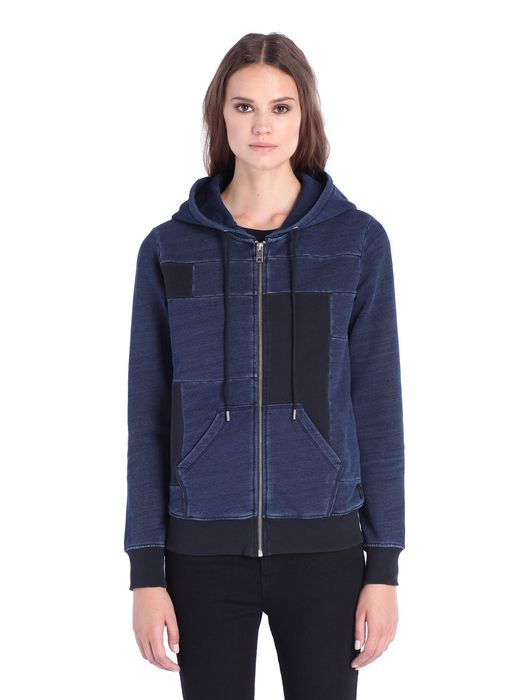 DIESEL F-MILKY-ZIP-A Sweatshirts D f