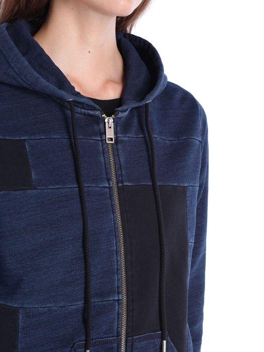 DIESEL F-MILKY-ZIP-A Sweatshirts D a