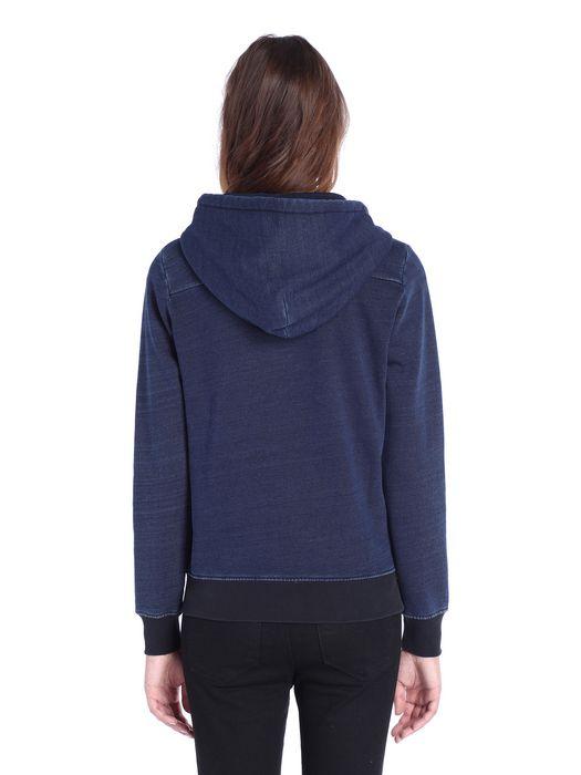 DIESEL F-MILKY-ZIP-A Sweatshirts D e