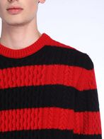 DIESEL BLACK GOLD KASSEDI-STRIPED Pullover U a