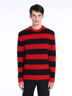 DIESEL BLACK GOLD KASSEDI-STRIPED Knitwear U f