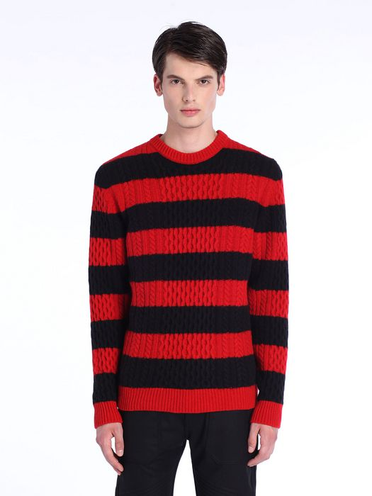 DIESEL BLACK GOLD KASSEDI-STRIPED Pullover U f