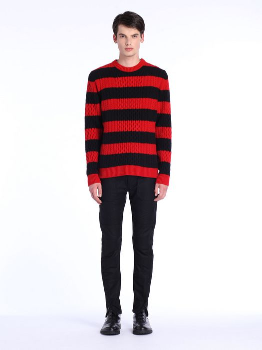 DIESEL BLACK GOLD KASSEDI-STRIPED Pullover U r