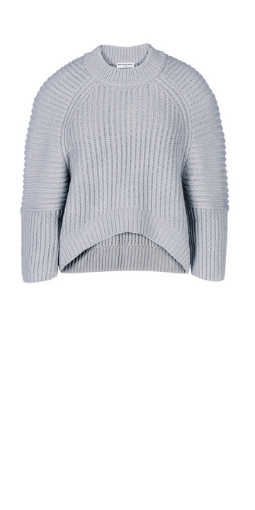 Balenciaga Alpaca Short Sweater