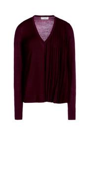 BALENCIAGA Knitwear D Balenciaga Pleated Sweater e