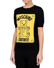 MOSCHINO Short sleeve sweater Woman r