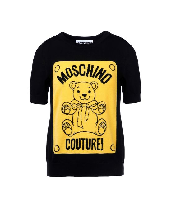 Short sleeve sweater Woman MOSCHINO