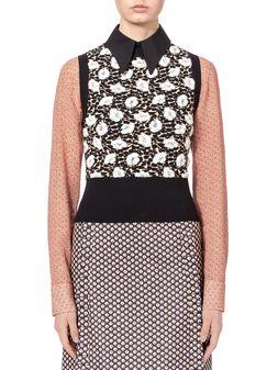 Marni Knit in jacquard Buttercup design Woman