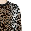STELLA McCARTNEY Cheetah Jacquard Crew Neck Jumper  Round neck D a