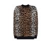 STELLA McCARTNEY Cheetah Jacquard Crew Neck Jumper  Round neck D f
