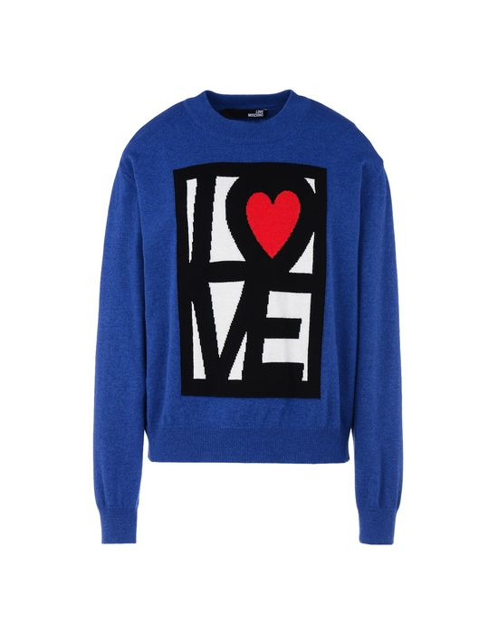 Long sleeve jumper Woman LOVE MOSCHINO