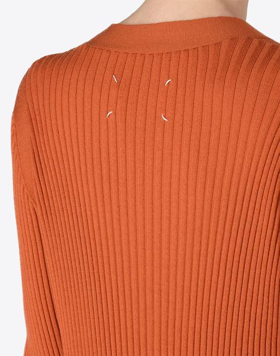 MAISON MARGIELA 4 Elongated wool cardigan Cardigan D b