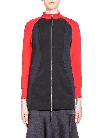 Marni Sweatshirt in ribbed technical jersey Woman