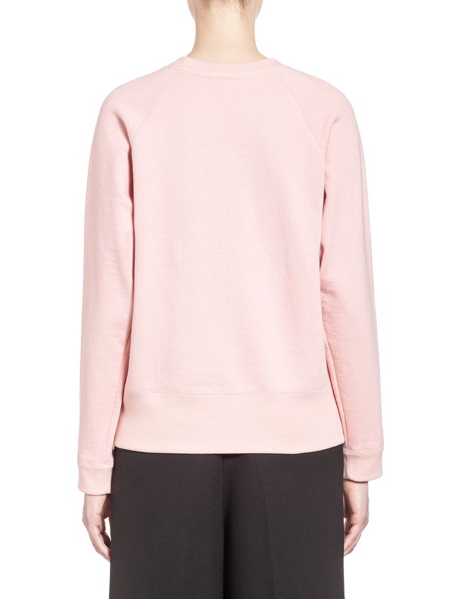 Marni Sweatshirt in loopback jersey pattern by Ekta Woman