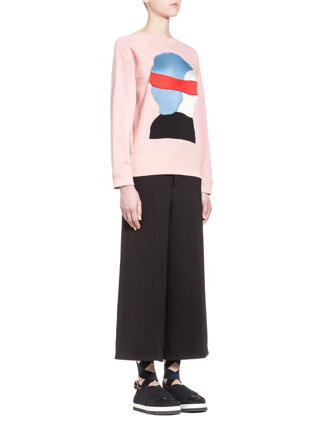 Marni Sweatshirt in loopback jersey pattern by Ekta Woman - 4