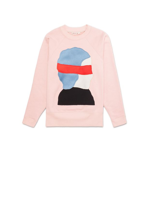 Marni Sweatshirt in loopback jersey pattern by Ekta Woman - 2
