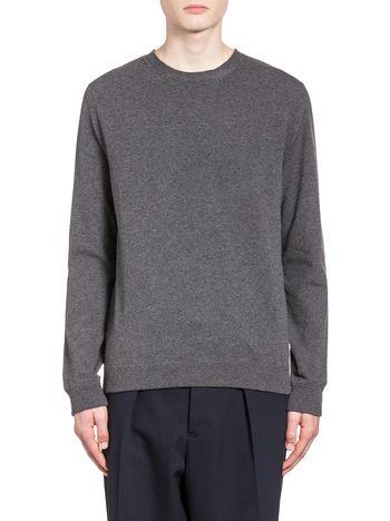 Marni Crew neck sweater in stockinette Man